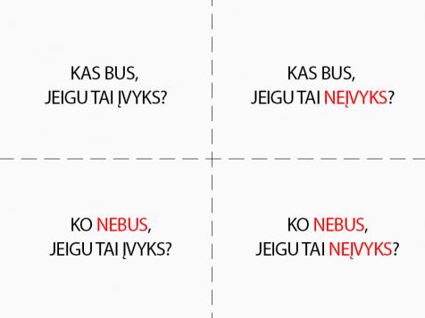 Dekarto kvadratas – lengvai priimsite sprendimą