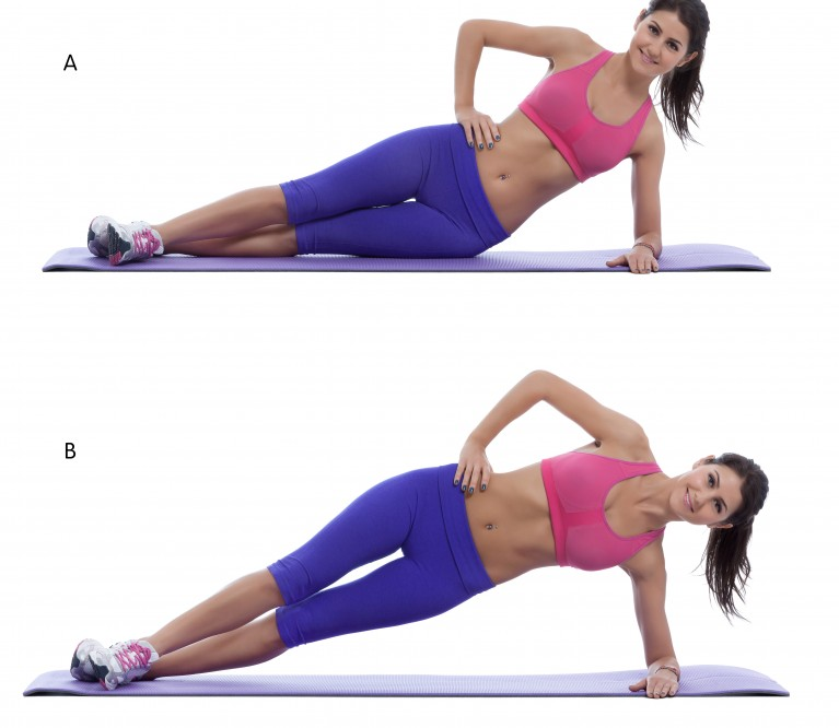 3 pratimai pilvui: jokių intensyvių treniruočių!
