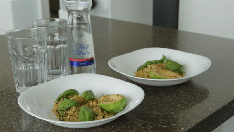 Receptas: keptas avokadas su bolivine balanda