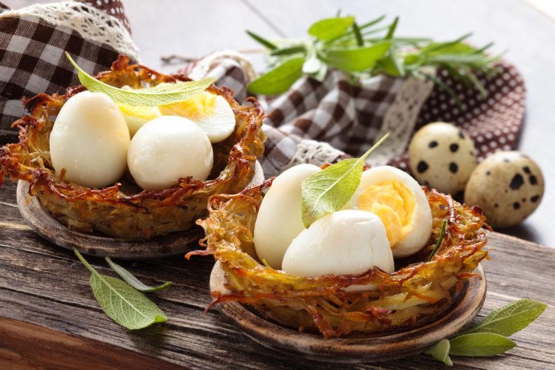Patiekalai iš kiaušinių. 5 naujos idėjos