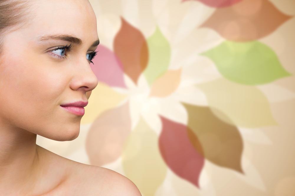 Veido odos priežiūra rudenį
