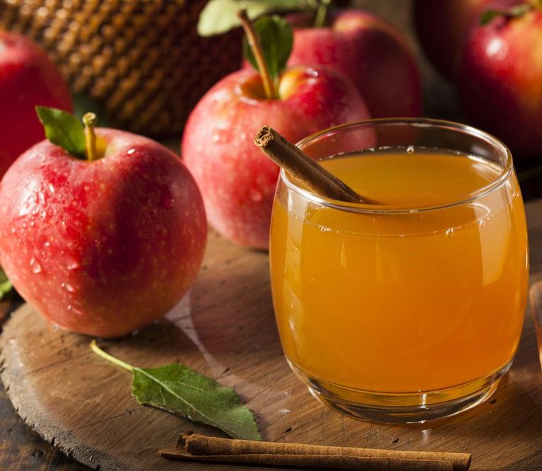 obuolių sidro actas