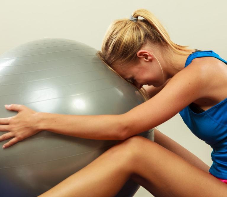 Ženklai, išduodantys, kad kūnui trūksta fizinės veiklos