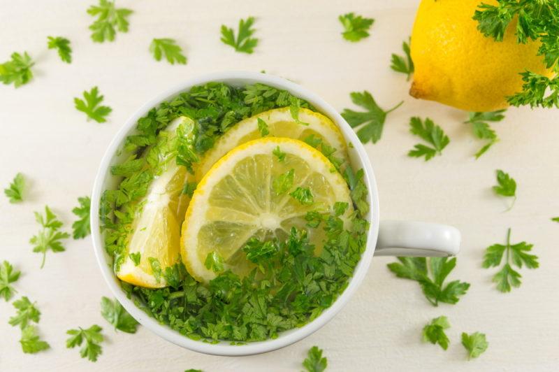 Kaip numesti svorio geriant petražolių arbatą?