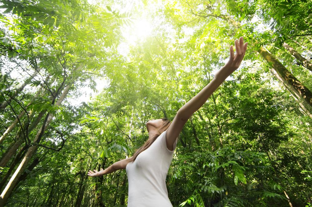 gamta daro teigiamą įtaką žmogaus savijautai ir nuotaikai