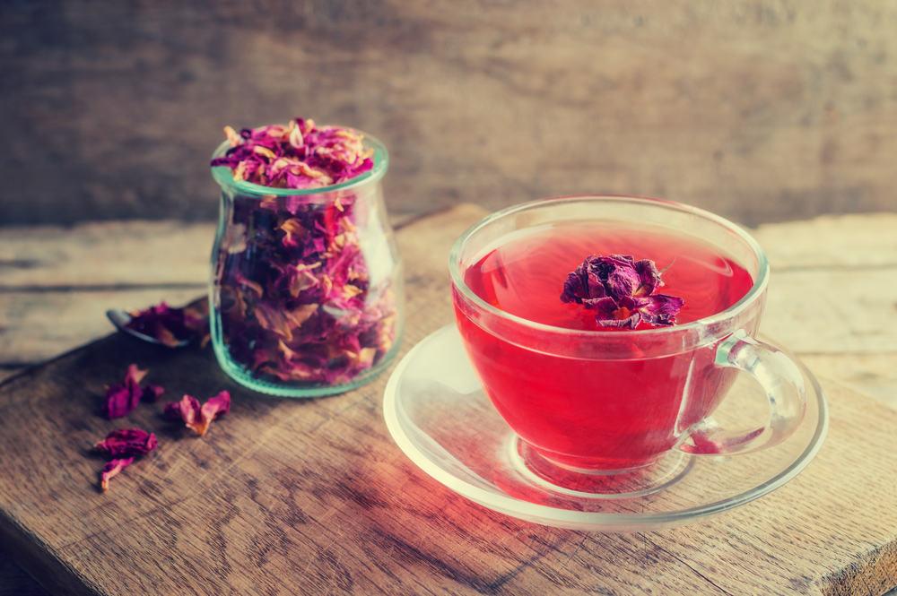 rožių arbata