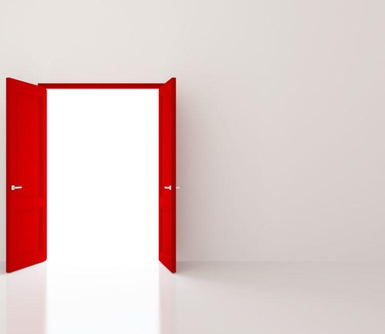 Asmenybės testas: išsirinkite savo duris į laimę